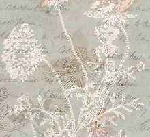 Romantic Vintage Foliage by Circe Lucas