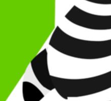 z for zebra Sticker
