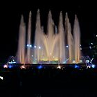 The Magic Fountain at Montjuic by ChrisCiolli