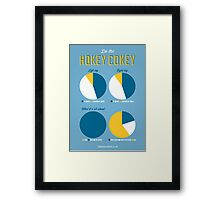 Hokey Cokey Framed Print