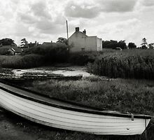 Old Boats - Brancaster Staithe by Richard Flint