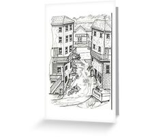 ALLEY IN NEW YORK Greeting Card