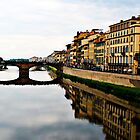 Half a Florentine Bridge by Jewel Pfaffroth