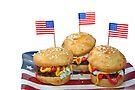 Hamburger Cakes by Maria Dryfhout