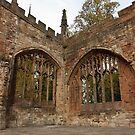 Ruins of St Michael's Cathedral Coventry by Magdalena Warmuz-Dent