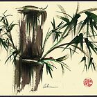 &quot;Gentle Soul&quot; - Little ladybug in her bamboo haven by Rebecca Rees