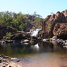 Top Falls, Edith River,  Northern Territory, Australia. by Rita Blom