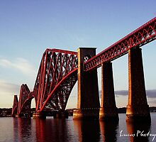 FORTH RAIL BRIDGE SCOTLAND by Luca Cosner