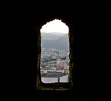 Abha Mountains from Shamsan Castle by mgwaiz