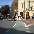Anzac  Day - 2012 Echuca - March - Cerebus, Cadets by djnatdog