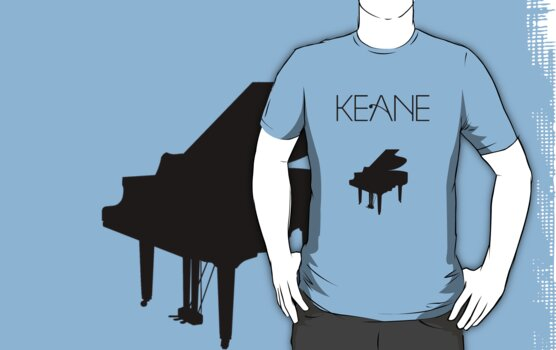 Keane - Logo & Piano by Ami94