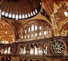 Hagia Sophia Gallery and Dome by Raftman