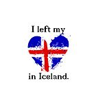 I left my heart in Iceland, Apple case by Shep610