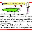 leezard date turnoffs by Ollie Brock