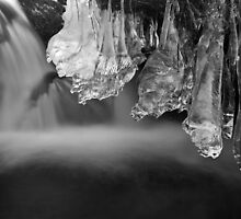 Ice Pendulums, Yorkshire Dales., United Kingdom by Jim Round