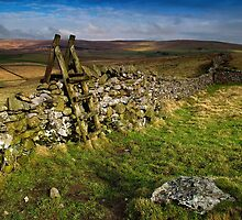 Yorkshire Dry Stone Wall by Jim Round
