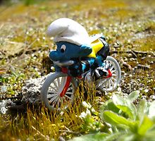 The Cyclist  by freshairbaloon