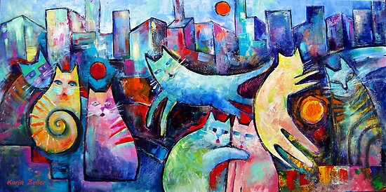 Citicats  by Karin Zeller