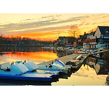 Boat House Row, Philadelphia Photographic Print
