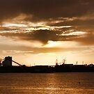 Newcastle Harbour by rossco