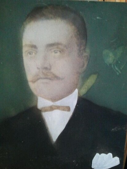 My Great Grandfather. Mi Bisabuelo by Iris  R