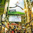 Evening stroll in HK by AlMiller