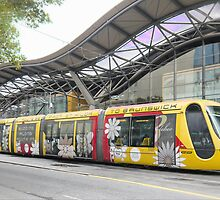 Trams on the Outside by Larry Lingard-Davis