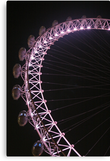London Eye by Jeanne Horak-Druiff