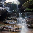 Somersby Falls  by Isabel J Coote Photography