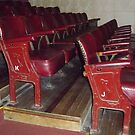 Old Theatre Seating. by Maureen Dodd