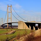 Humber Bridge, South side by John Dunbar