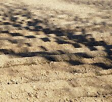 Shadows On A Ploughed Field by Fara