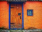 The Orange House by Maria  Gonzalez