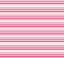 Sweet Pink Stripes by sweettoothliz