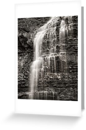 Tiffany Falls by Steve Silverman