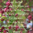 Dear Mother by DreamCatcher/ Kyrah Barbette L Hale