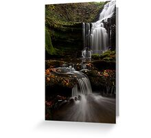Scalber Force, Yorkshire Dales Greeting Card