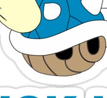 Blue Shell Sticker