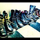 Plenty o' Boots by ARPunk