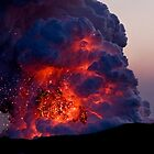 Kilauea Volcano at Kalapana 6 by Alex Preiss