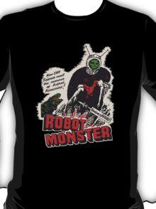 Robot Monster! Horror film poster artwork T-Shirt