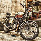 Triumph Bonneville T100 by Asif Patel