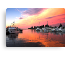 Bermagui Moorings Canvas Print