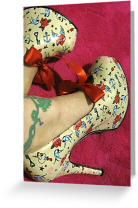 Rockabilly Shoes by TraceySpankus