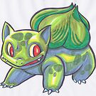 Bulbasaur by ProfessorBees