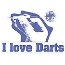 I Love Darts by noeljerke