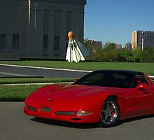 """Bad Mitten, anyone?""  2011 Corvette by TeeMack"
