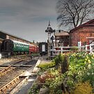 Tenterden Railway station  by larry flewers