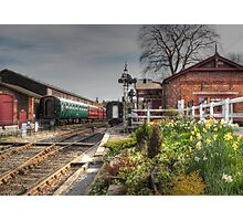 Tenterden Railway station  Photographic Print