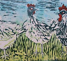 Bridget's Poultry 3 by Susan Duffey